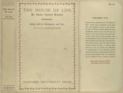Dust Jackets - The house of life, by Dan