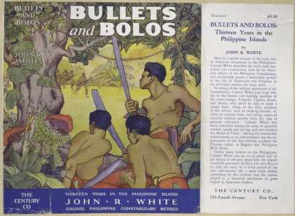 Dust Jackets - Bullets and bolos.