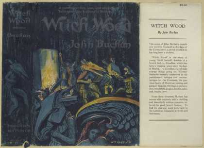 Dust Jackets - Witch wood.
