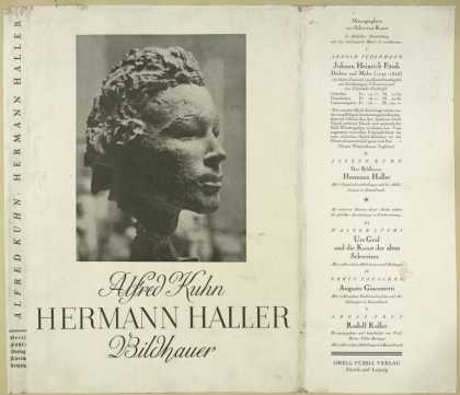 Dust Jackets - Hermann Haller: Bildhauer