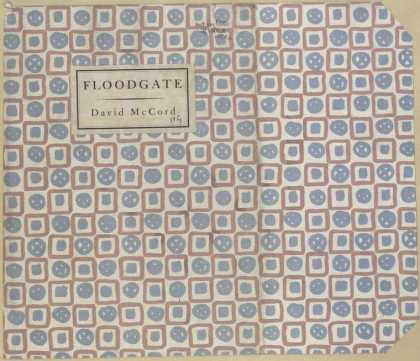Dust Jackets - Floodgate.
