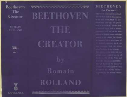Dust Jackets - Beethoven the creator.