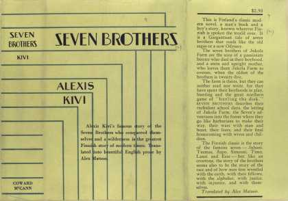 Dust Jackets - Seven brothers.