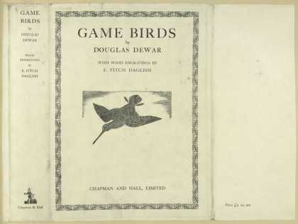 Dust Jackets - Game birds.