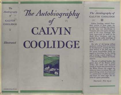 Dust Jackets - The autobiography of Calv