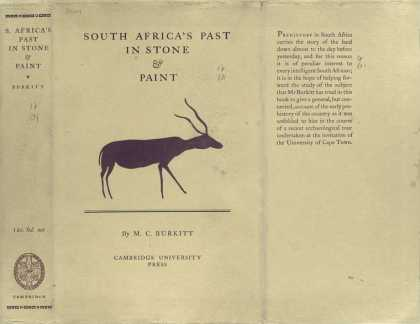 Dust Jackets - South Africa's past in st