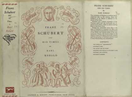 Dust Jackets - Franz Schubert and his t