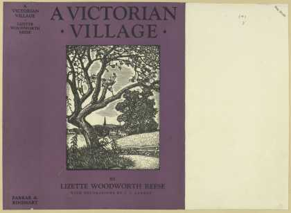 Dust Jackets - A Victorian village.