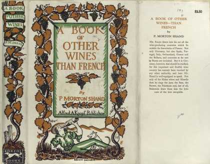 Dust Jackets - A book of other wines--th