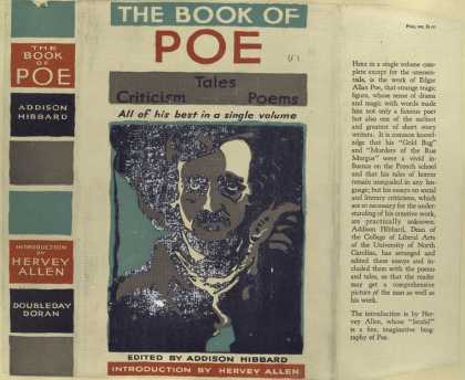 Dust Jackets - The book of Poe tales, c