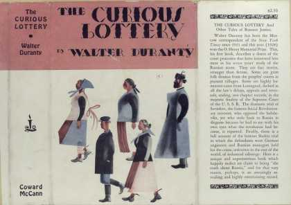 Dust Jackets - The curious lottery.
