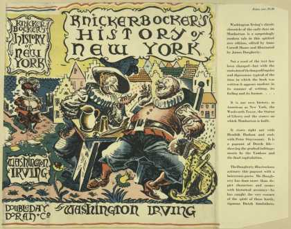 Dust Jackets - Knickerbocker's History o