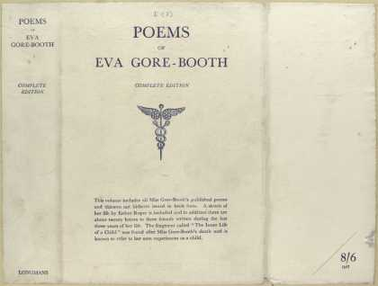 Dust Jackets - Poems of Eva Gore-Booth.