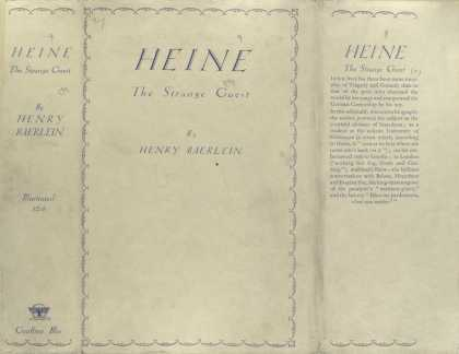 Dust Jackets - Heine, the strange guest.