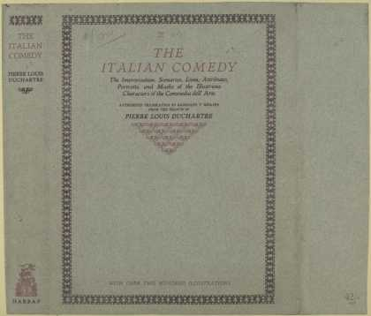 Dust Jackets - The Italian comedy the i