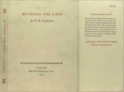 Dust Jackets - Between the lines.