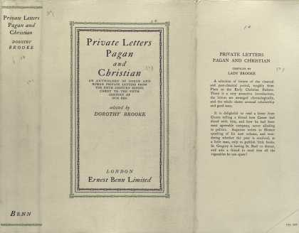 Dust Jackets - Private letters, pagan an