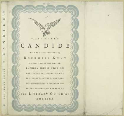 Dust Jackets - Candide.