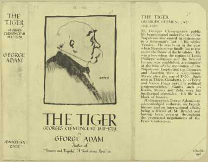 Dust Jackets - The Tiger  Georges Cleme