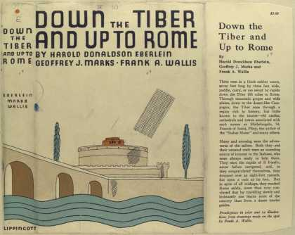 Dust Jackets - Down the Tiber and up to