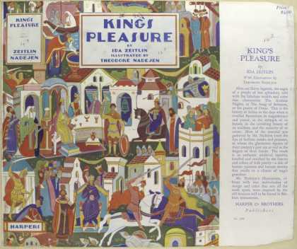 Dust Jackets - King's pleasure.