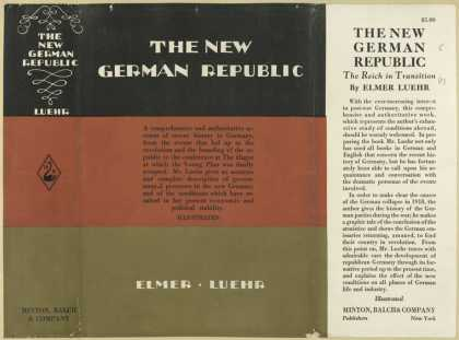 Dust Jackets - The new German republic.