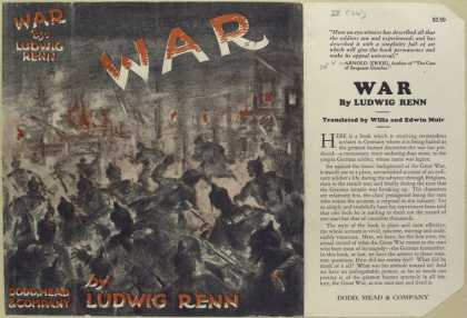 Dust Jackets - War.