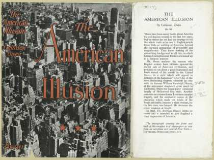 Dust Jackets - The American illusion.