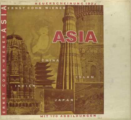 Dust Jackets - Asia.