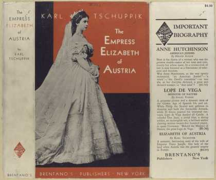 Dust Jackets - The Empress Elizabeth of