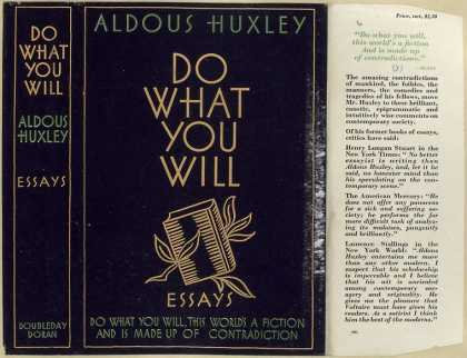 Dust Jackets - Do what you will : essays