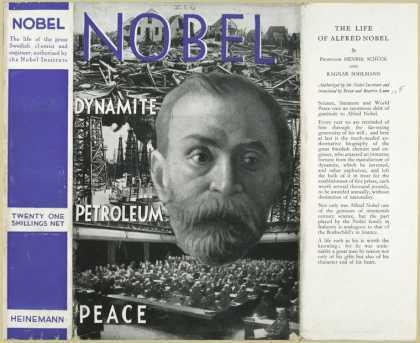 Dust Jackets - The life of Alfred Nobel.
