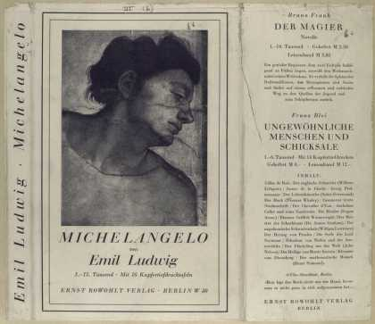 Dust Jackets - Michelangelo.