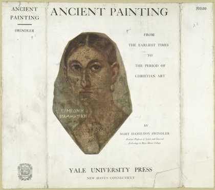 Dust Jackets - Ancient painting, from th