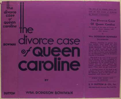 Dust Jackets - The divorce case of Queen