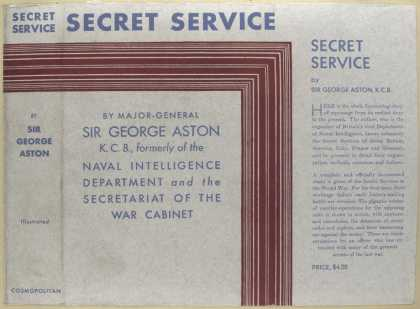 Dust Jackets - Secret service.