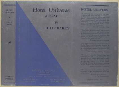 Dust Jackets - Hotel universe, a play.
