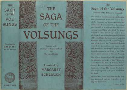 Dust Jackets - The saga of the Volsungs.