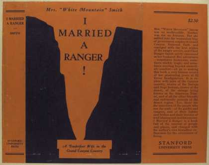 Dust Jackets - I married a ranger.