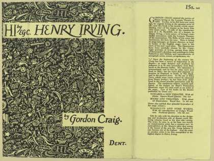 Dust Jackets - Henry Irving.