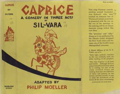 Dust Jackets - Caprice, a comedy in thre