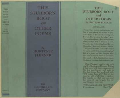 Dust Jackets - This stubborn root and ot