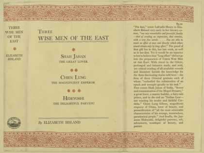 Dust Jackets - Three wise men of the Eas