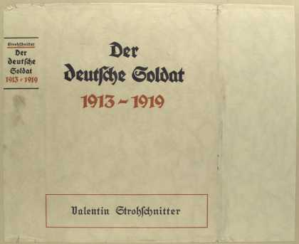 Dust Jackets - Der deutsche Soldat, 1913