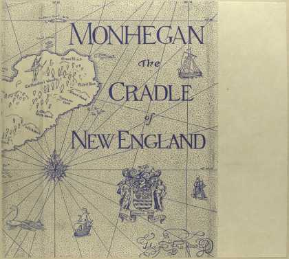 Dust Jackets - Monhegan, the cradle of N