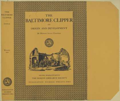 Dust Jackets - The Baltimore clipper : i