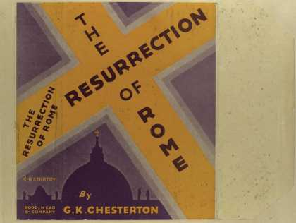 Dust Jackets - The resurrection of Rome.