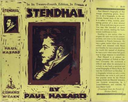Dust Jackets - Stendhal.