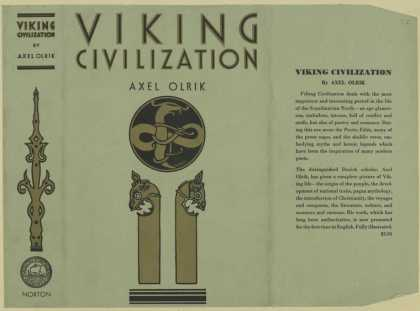 Dust Jackets - Viking civilization.