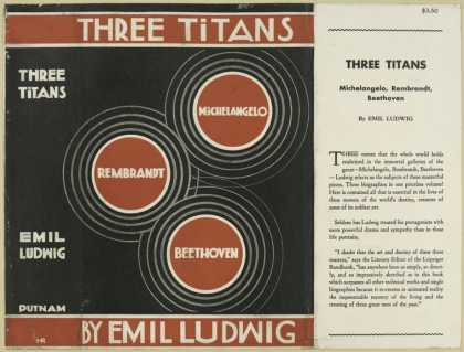 Dust Jackets - Three Titans.